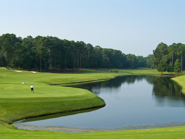 Golfing is great along the Grand Strand in South Carolina. Photo by Andrew Kazmierski/Dreamstim.com