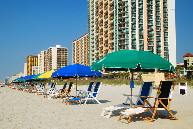 Great beaches and more greet visitors to South Carolina's Grand Strand . Photo by James Kirkikis/Dreamstime.com