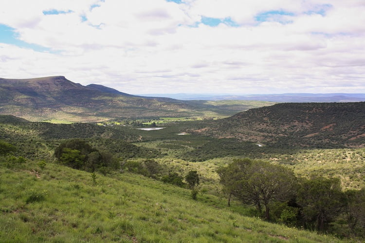 Wonderful farm view in Africa