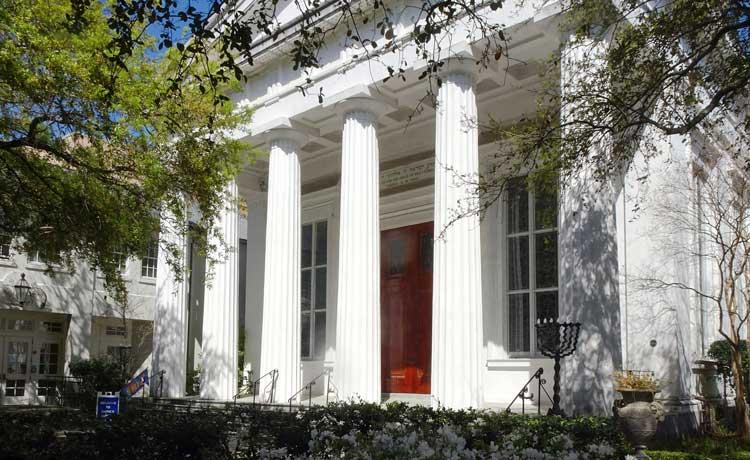 Kahal Kadosh Beth Elohim Synagogue in Charleston, South Carolina