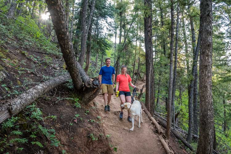 Hiking is one of the top things to do in Aspen
