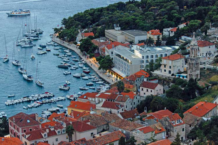 Hvar, Croatia is a beautiful island.