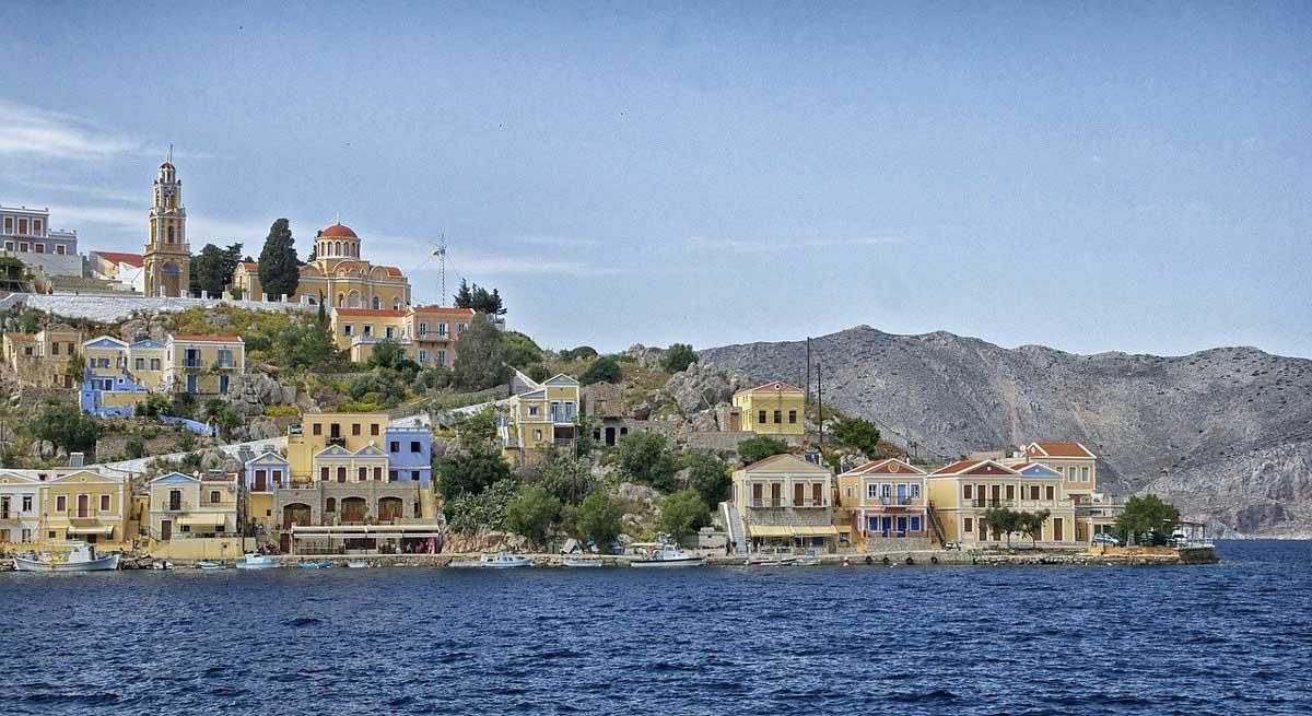 Symi, Greece: Sponge Diving, History and Hospitality