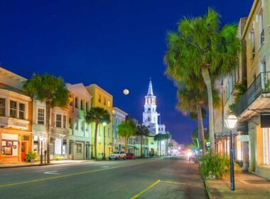 Charleston at night. Top 10 Things to Do in Charleston