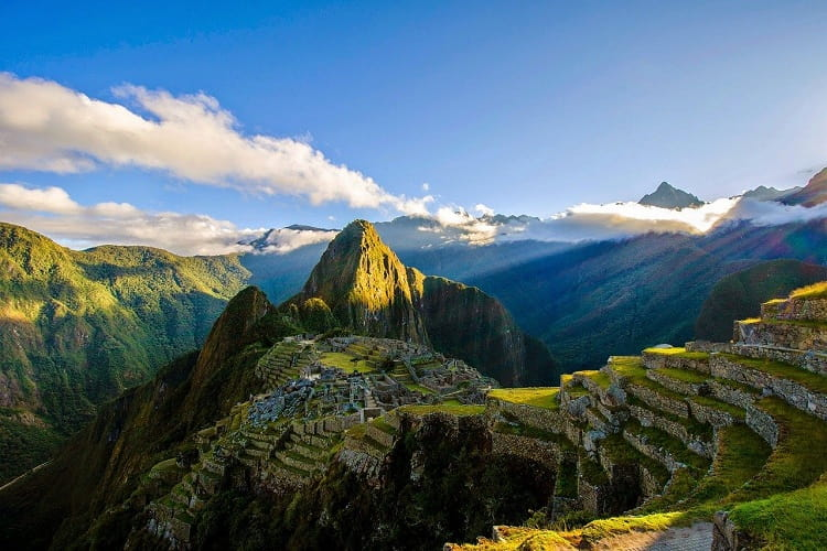Amazing View of the Great Machu Picchu, Best World Journeys