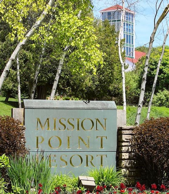 Mission Point Resort entrance