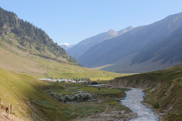 Another view of Basmin Valley in Kashmir.
