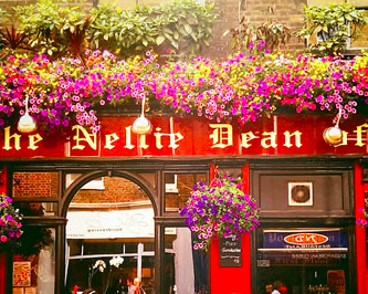 The old Nellie Pub in SoHo area of London, UK.