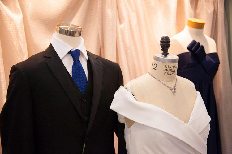 Wedding apparel deals for new and vintage unclaimed bridal dresses