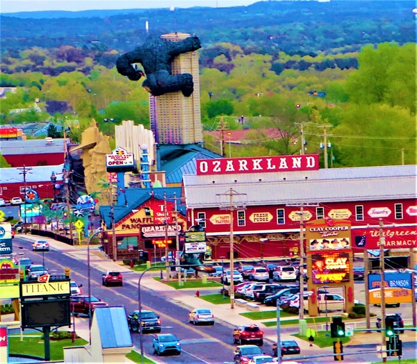 Branson, Missouri is a never-never Land in mid-America. Photo by Victor Block