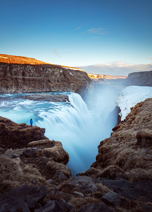 The enormous canyon in Iceland that boasts the roaring Gullfoss Falls