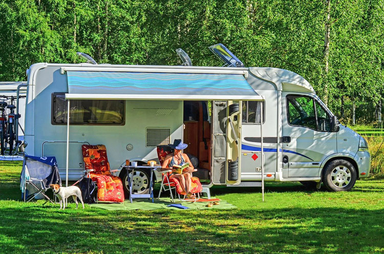 RVs offer social distancing while you enjoy nature and exploring the open road.