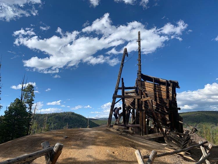 The historic Sallie Barber Mine