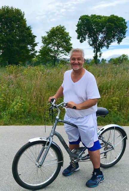 Mackinaw Island cycling