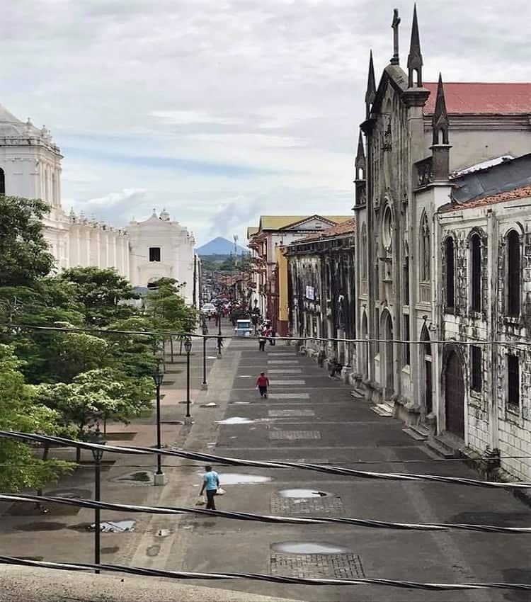 Walking the ancient roads of Leon Nicaragua