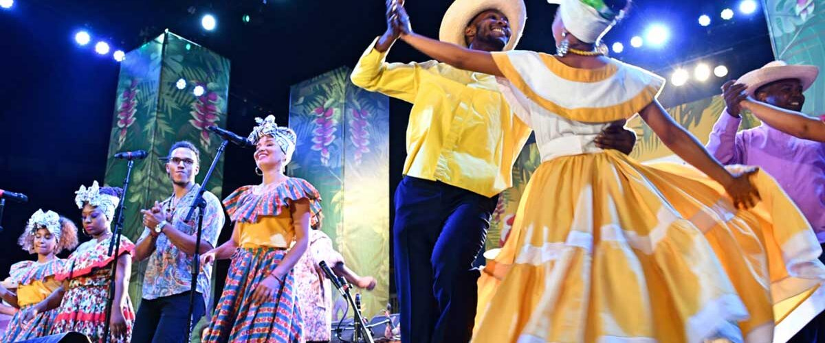 The Petronio Alvarez Music Festival is a free six-day celebration of African musical heritage, food and dance in Colombia. . Photo by Michael Molyneux