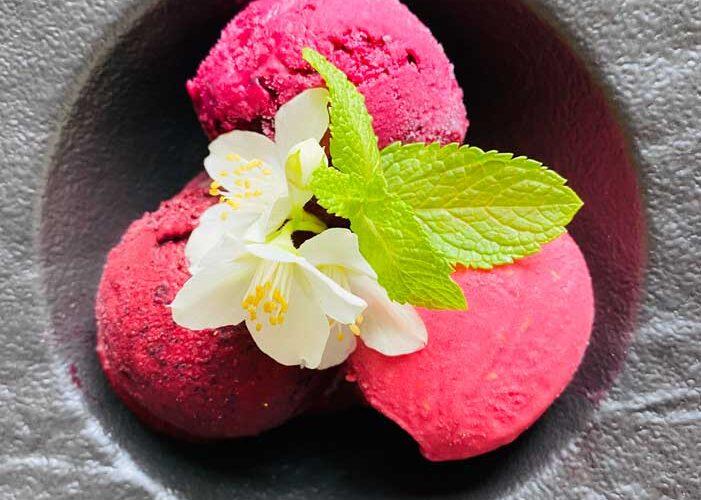 Ice cream at Restaurant Žuvinė