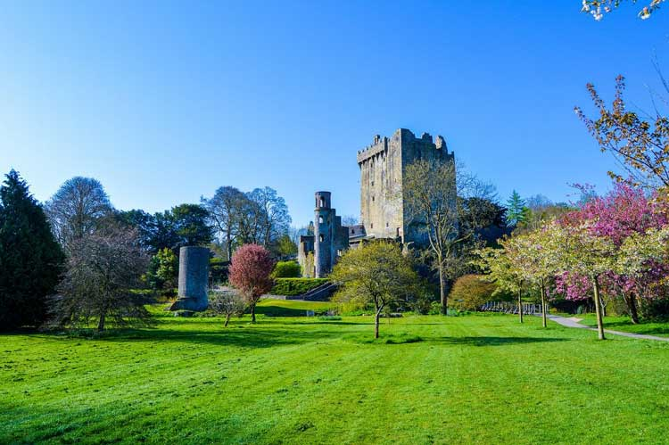 Blarney Castle near Cork, Ireland