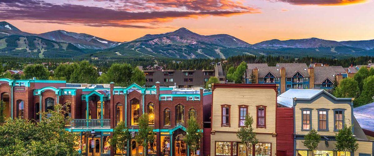 Breckenridge, Colorado in the summer. Photo by Breckenridge Tourism Office