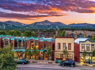 Breckenridge, Colorado in the summer. Photo by Breckenridge Tourism Office
