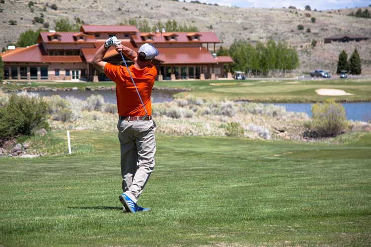 Golfing at Rio Grande Club and Resort in South Fork, Colorado