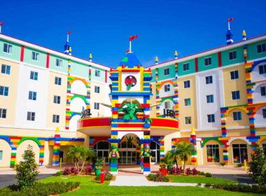 Legoland Hotel is one of the most unique hotels in America