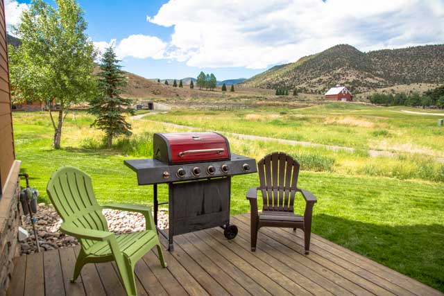 View from a townhome at Rio Grande Club and Resort in South Fork, Colorado