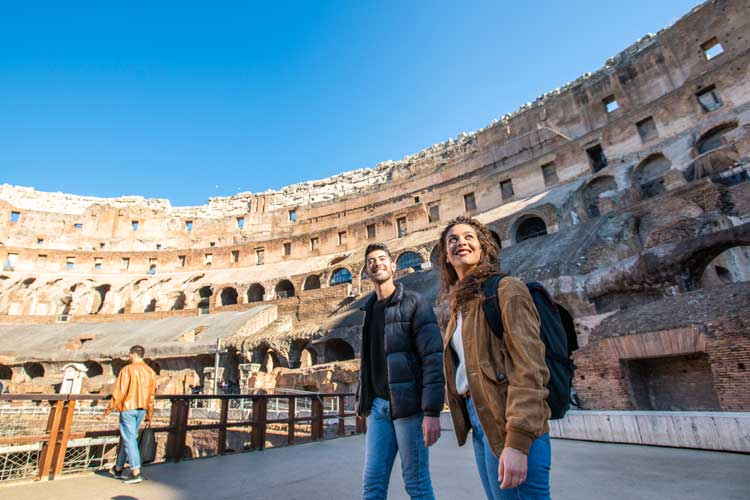 An attraction that needs no introduction, Rome's iconic amphitheatre at the Coliseum hould be your first port of call.