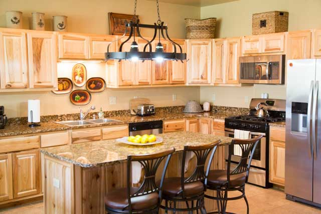 Townhome kitchen at Rio Grande Club and Resort