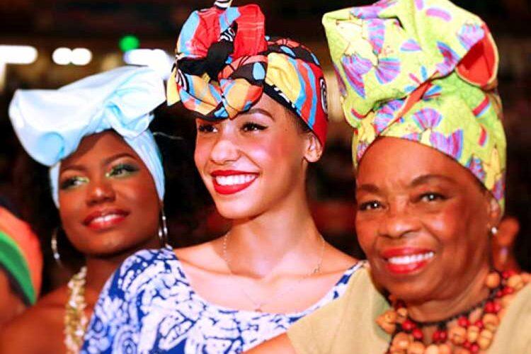 Ladies ancestral turbantes