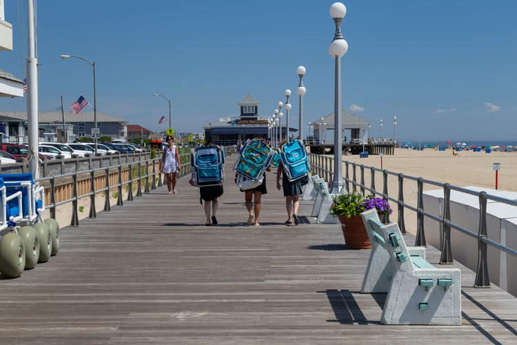 Avon by the sea in New Jersey/