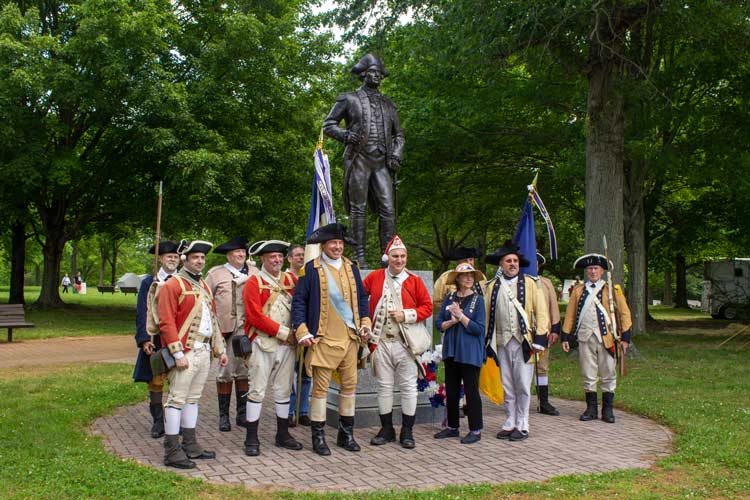 Battle of Monmouth.