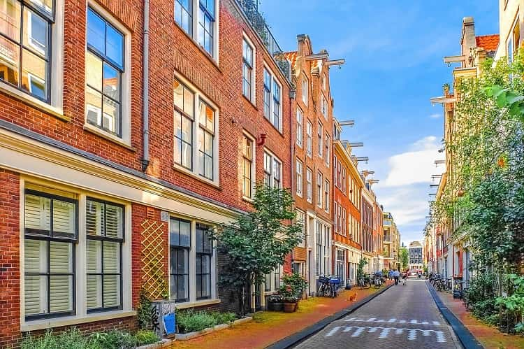 Beautiful Jordaan district