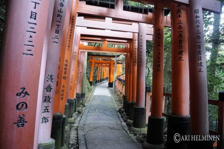 Fushimiinari Shrine.