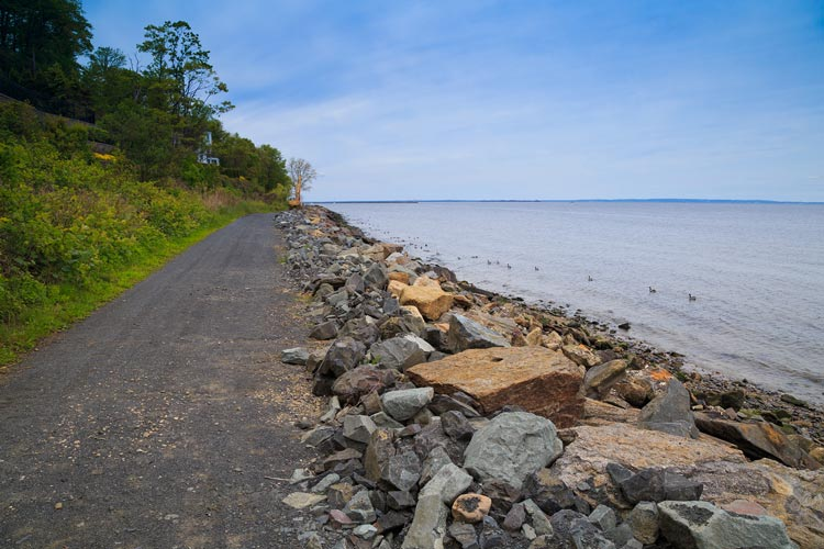 Henry Hudson Trail in Monmouth County, NJ.