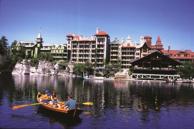 Mohonk Mountain House in New Paltz, NY Resides Majestically over 2200 acres. Photo courtesy of Mohonk