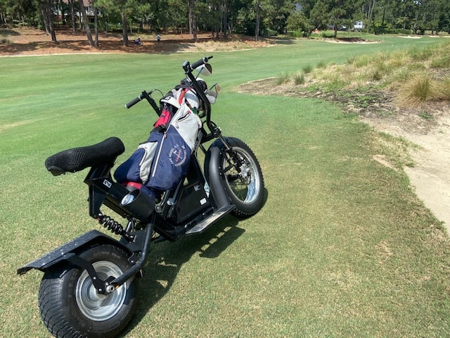 Pine Needle golf scooters