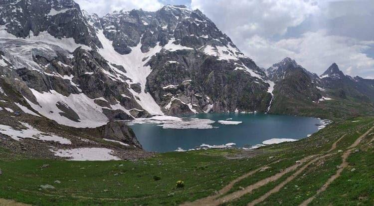 kashmir great lake at Himalaya