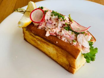 Lobster roll at Inn by the Sea