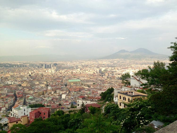 Naples provides the buzzing backdrop for Ferrante's novel. Photo by Anne Schuchman Berrettini