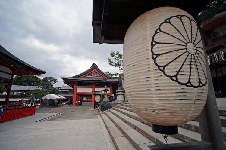 Paper lantern, Fushimiinari Shrine.