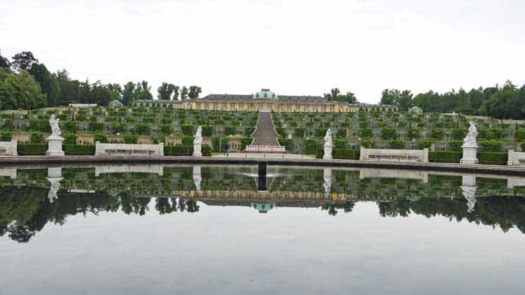 The gardens at the Sanssouci Castle in Potsdam. Photo by Rob Schmidt