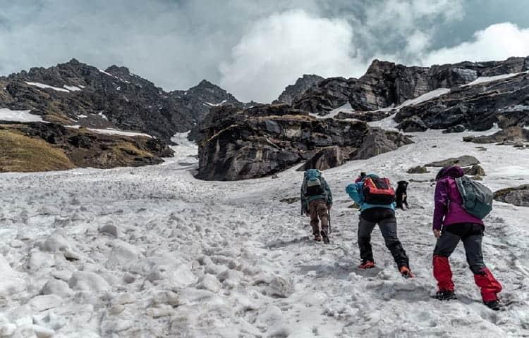 Rupin-pass at Himalaya