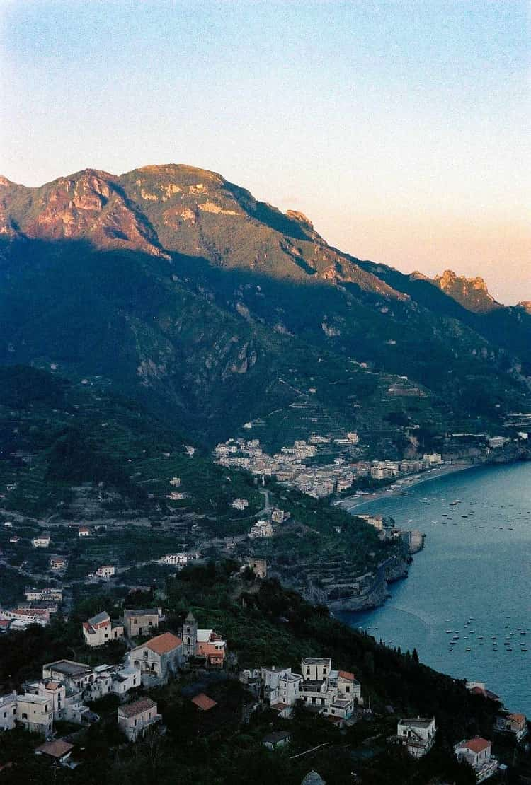 The Breathtaking View of Bay of Salerno, Ravello