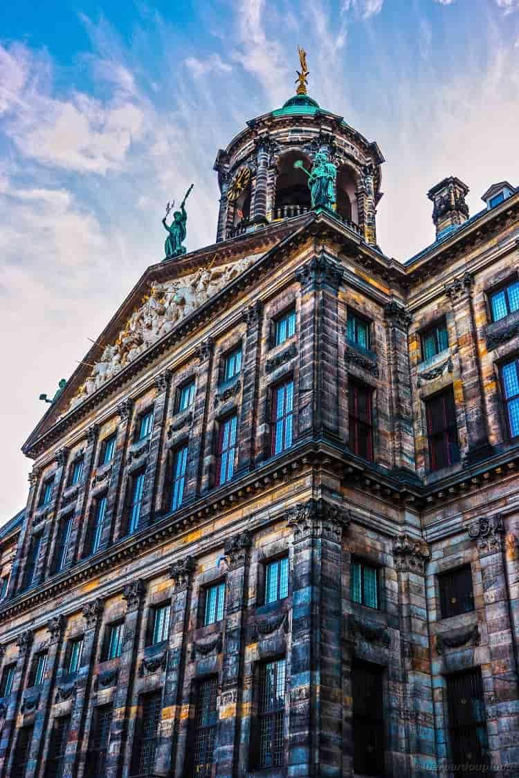 The amazing Royal Palace of Amsterdam