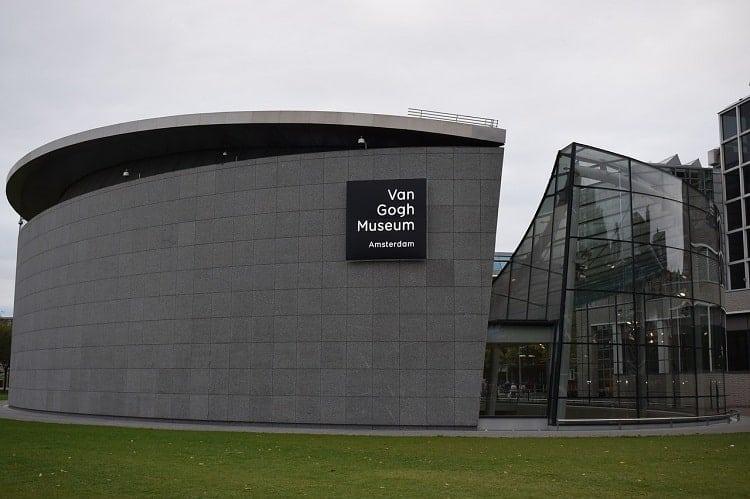 The famous art museum, Van GoghMuseum
