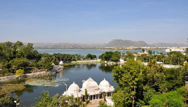The natural beauty of Udaipur, India