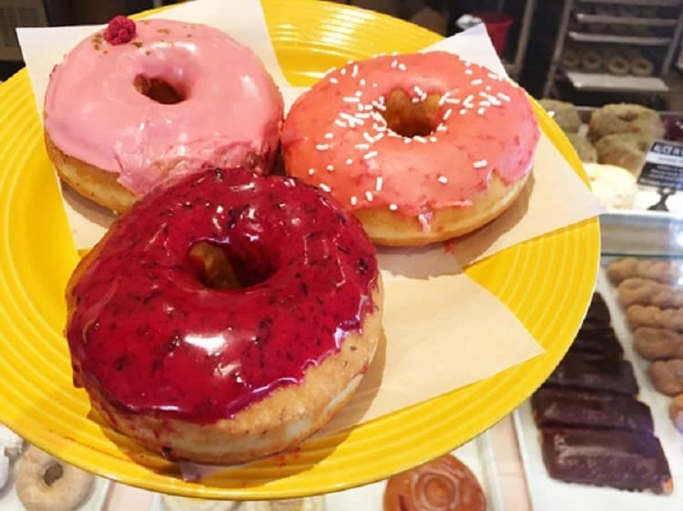 The yummy Guru Donuts.