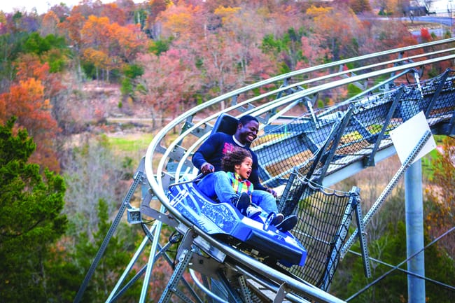 The Name Runaway Mountain Coaster says it all. Photo by Branson CVB