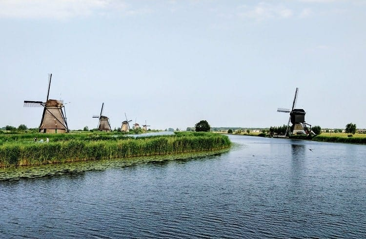 Windmills are the iconic symbol of the Netherlands